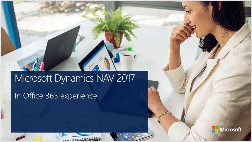 Microsoft Dynamics NAV 2017 y Office 365