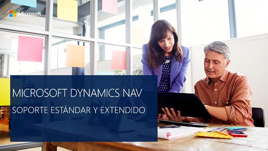 Microsoft Dynamics NAV: Soporte principal y extendido